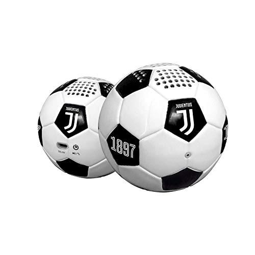 Mini-Cassa Acustica Ufficiale Juventus Bianco/Nero