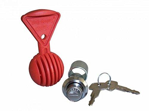 AL-KO–Diebstahl Tastensperre Schutz für ALKO Gusseisen Kupplungsscheiben AK 301/351