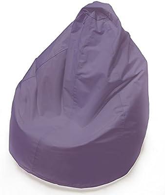 Grigio, 70x80cm Windyeu Copertura per Poltrona a Sacco con Zipper Manico Portabile DIY Lazy Bag Lavabile Morbido