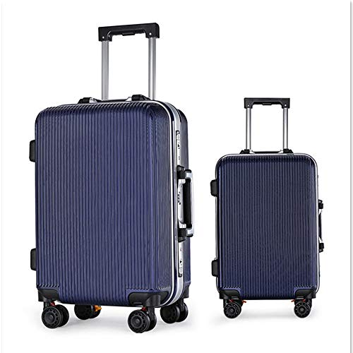 Mode Ontwerp 20in 24in Spinner Bagage 2 Stuk Nested Set ABS Reizen Bagage Trolley Cases koffer Hardshell Lichtgewicht Carry-on Staand koffer 360° Stille Spinner Multidirectionele Wielen Airpl
