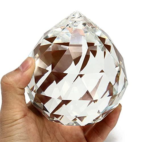 Piedra curativa 1 unid 100 mm de cristal de cristal de la...