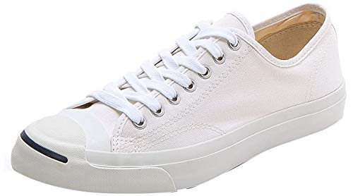 Converse Women's Jack Purcell Cp Canvas Low Top Shoes - White/White - 3.5
