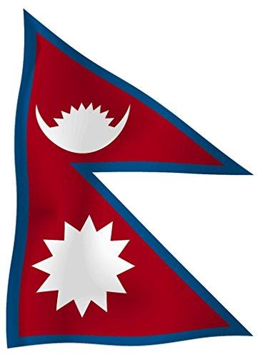 Flagge/Fahne NEPAL Staatsflagge/Landesflagge/Hissflagge mit Ösen 150x90 cm, sehr gute Qualität