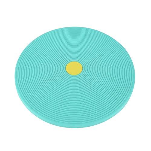Ultrasport Balance Board 2in1, Wackelbrett zum Trainieren von Koordination und Gleichgewicht, zusätzlich als Stretching-Trainingsgerät nutzbar; Therapiekreisel zur Sturzprophylaxe;Durchmesser ca 38 cm
