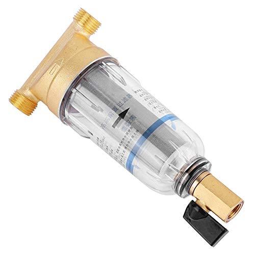 """Wiederverwendbare Spin-Down-Sediment-Wasserfilter Wasserhahn Wasserfilter Wasser-Vorfilter-Sedimentfilter für Brunnenwasserschlauch-Sedimentfilter(3/4\"""" Male Thread)"""