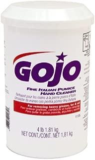 Gojo 1135-06 Fine Italian Pumice Hand Cleaner - 4.5 lb., (Pack of 6)