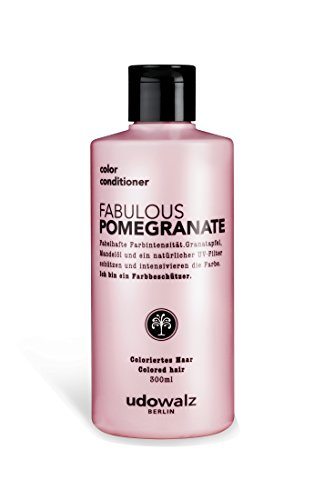 Udo Walz Hairfood Color Conditioner Fabulous Pomegranate, 1er Pack (1 x 300 ml)