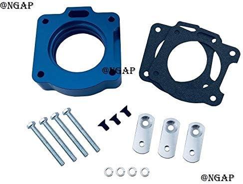 Billet Popular brand Blue Aluminum Throttle Body Spacer Quantity limited 97-00 F150 For 4.2L V6