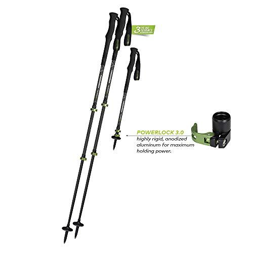 Komperdell C3 Carbon Pro Stöcke Black/Green 2020 Spazierstock