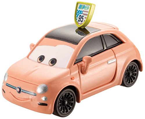 Disney Pixar Cars Cartney Carsper (Race Fans Series, # 1 of 9) - Voiture Miniature Echelle 1:55