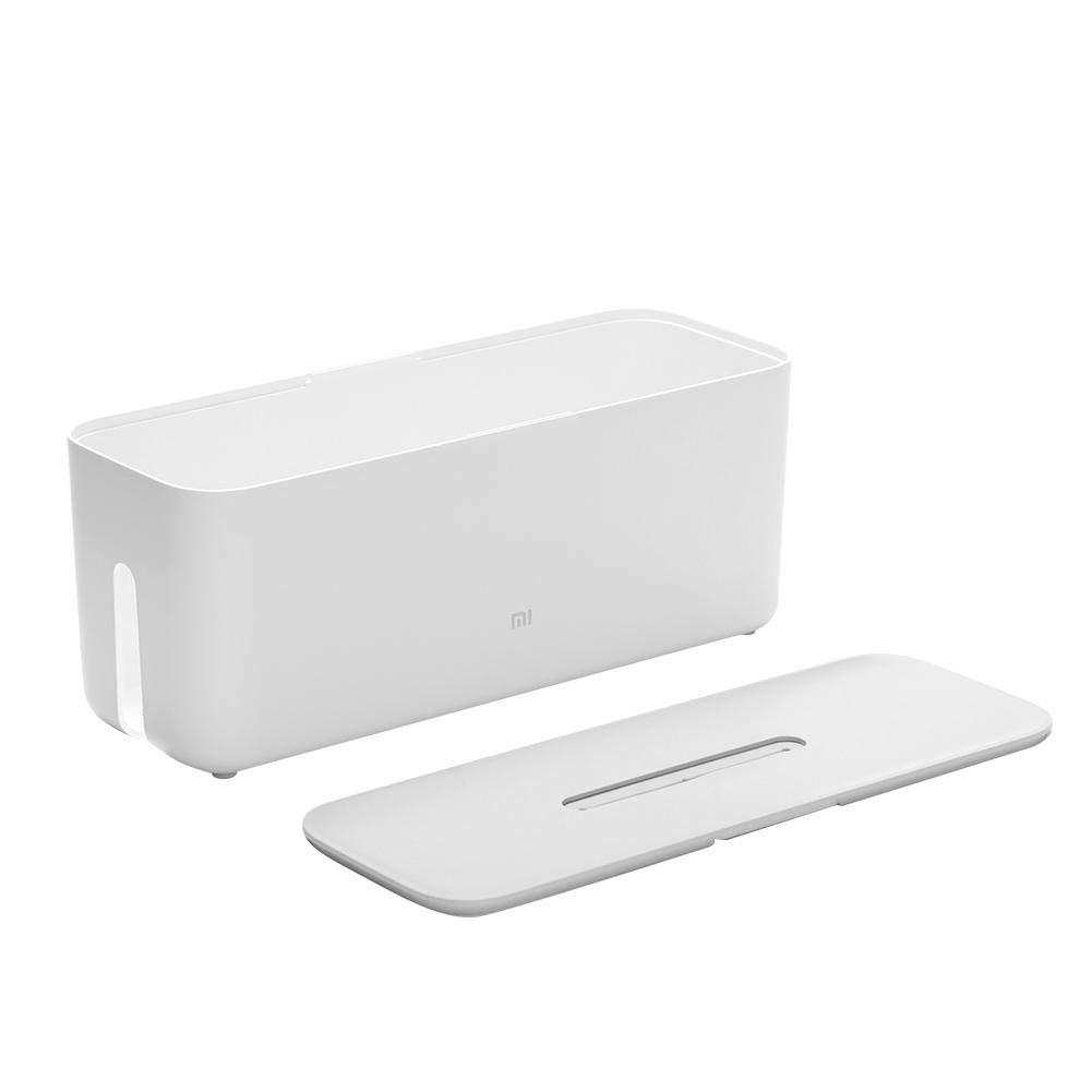Starriver Caja de Organizador de Cable ,eléctrico Caja de Almacenamiento de Cable de Tira de alimentación Cubierta eléctrica con Soporte para teléfono para el hogar: Amazon.es: Electrónica