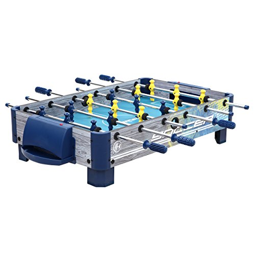 Harvil 38-Inch Tabletop Foosball Table with Silver Rods and...