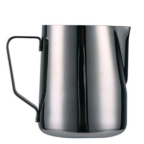 Pichet à mousse de lait en acier inoxydable pour barista, cappuccino (500 ml)