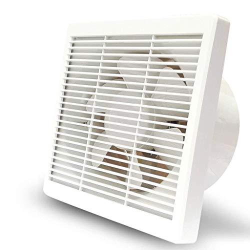 Sgfccyl Ventilatierooster 8 inch brandblusser badkamer keuken ventilatie huisventilatie lawaai 42 dB snelheid: 1080r / min. Afmetingen paneel: 286 x 283 mm. Toepassingsgebied: 20-25 m.