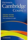Diccionario Cambridge Compact. English - Spanish Español - Inglés.