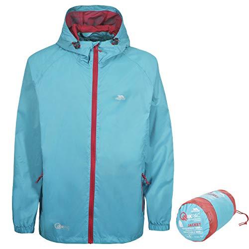 Qikpac Adults Waterproof Packaway Jacket AQUATIC XL