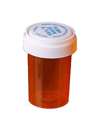 Regular dealer Pharmacy Prescription Super special price Vials Amber Medicine Child Resistant Bott