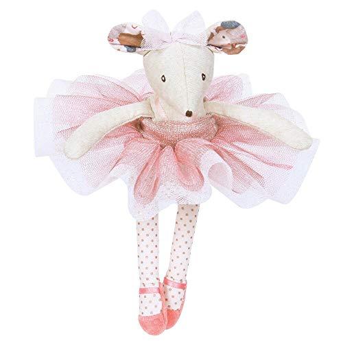 Moulin Roty Ballerina Maus mit Geschenkkarton Kuscheltier