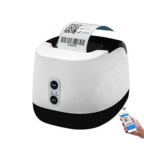 ZUKN Unterstützung Für Tragbare Thermo-Etikettendrucker USB-Bluetooth-Verbindung POS-Kassenbeleg Barcode-Aufkleber Windows-Kompatibel Für Die Einzelhandelslogistik Geeignet