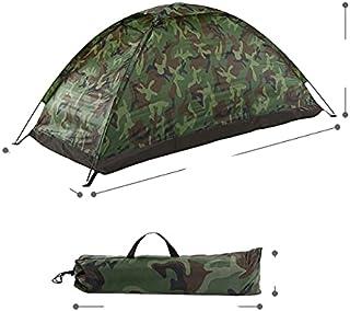 Campingtält för 2 personer enkelt lager utomhus bärbar kamouflage camping fisketält bärbar vattentät tält