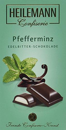 Heilemann Pfefferminz Edelbitterschokolade, 2er Pack (2 x 100 g)