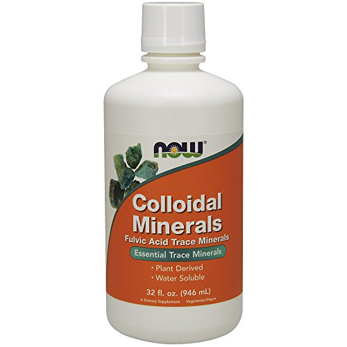 Now Foods Kolloidale Mineralien, 32 Flüssigunzen (946 ml) 3.5 x 3.6 x 8.5 inches