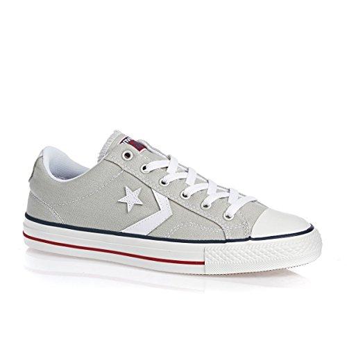 Converse Unisex-Erwachsene Star Player OX Cloud White Sneaker, Grau (Light Grey 050), 46.5 EU