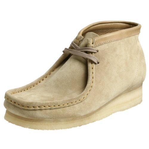 Clarks Originals Men's Wallabee Boot, Sand Suede, 13 M