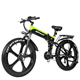 ZPAO-ZP1000 26-inch Fat tire Electric Bicycle 48V 1000W Motorcycle Snow Electric Bicycle and...