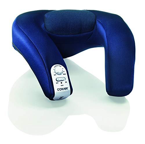 Conair Body Benefits Battery A/C Massaging Neck Rest with Heat, Multicolor, Universal