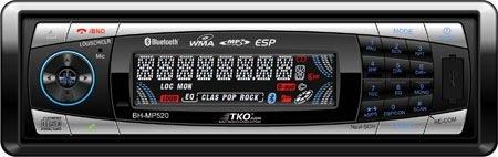 TKO BHMP520 Brand New Mobile AMFM/CD/MP3/USB/SD Port