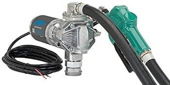GPI G20 12V Fuel Transfer Pump Automatic Nozzle 20 GPM fuel pump 14  Hose Adjustable Suction Pipe  162000-03
