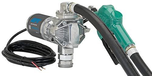 GPI G20 Fuel Transfer Pump, Automatic Nozzle, 20 GPM fuel pump, 14' Hose, Adjustable Suction Pipe (162000-03)