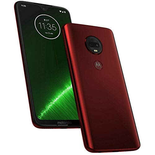 Motorola Moto G7+ Plus (64GB + 64GB SD Bundle)...