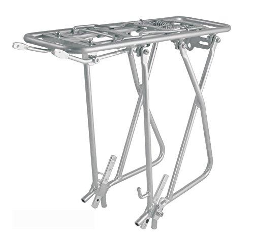 ONOGAL 'transportin aus gehärtetem Aluminium in Silber Porta Gepäckstücke 25kg Fahrrad Gepäckträger 26