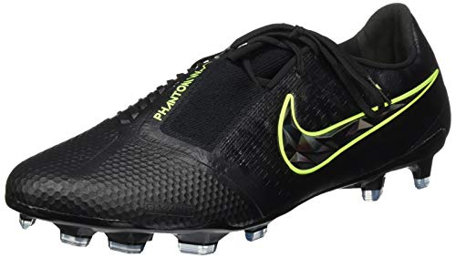 Nike Unisex Phantom Venom Elite Fg Fußballschuhe, Black Black Volt, 46 EU