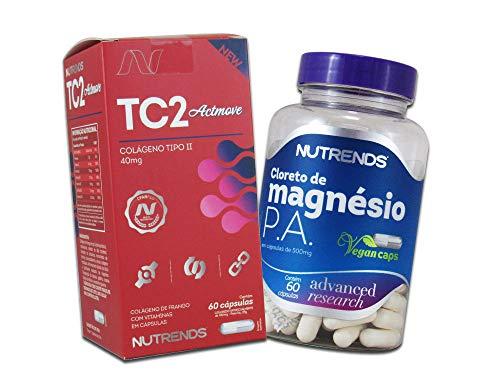 Artrose Artrite Colageno Tipo 2 Magnésio 140mg (60doses)