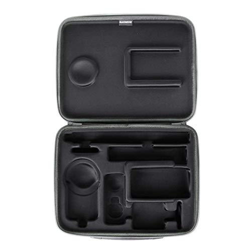 POHOVE Carrying Case,Action Camera Accessory Hard Shell Carrying Case for Insta-360 ONE X2/X,Protective Anti Scratches Action Camera Bag with Zipper Closure Insta-360 ONE X2/X