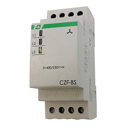 Netzüberwachungsrelais mit Feste Schwelle der Spannungsasymetrie Netzüberwachung Überwachungsrelais Relais CZF-BS F&F 3102