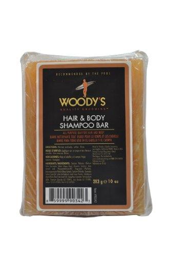 Woody 's Qualität Fellpflege Hair & Body Shampoo Bar–283g