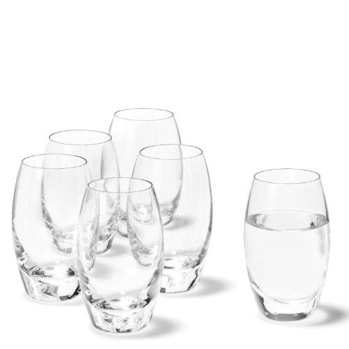 Leonardo Cheers Schnaps-Gläser, 6er Set, spülmaschinenfeste Shot-Gläser, Schnaps-Becher aus Glas, Stamper, Gläser-Set, 6 cl, 60 ml, 019991