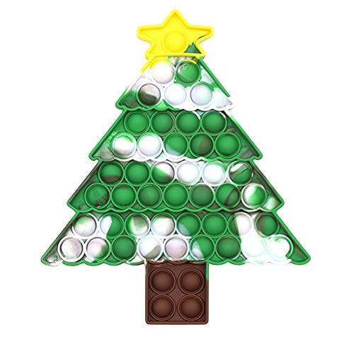 Giocattoli sensoriali a forma di albero di Natale