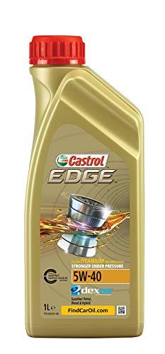 Castrol 24909 EDGE Motorenöl 5W-40 Motorenöl 1L