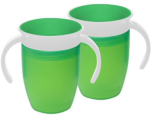 Price comparison product image Munchkin Miracle 360 Trainer Cup (Green / Green)