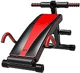Multifuncional Inclinado Multifuncional Músculos Abdominales Banco Plegable Material de PU Engrosado Taburete Banco de Acero al Carbono Ejercicio Levantamiento de Pesas y Entrenamiento de Fuerza