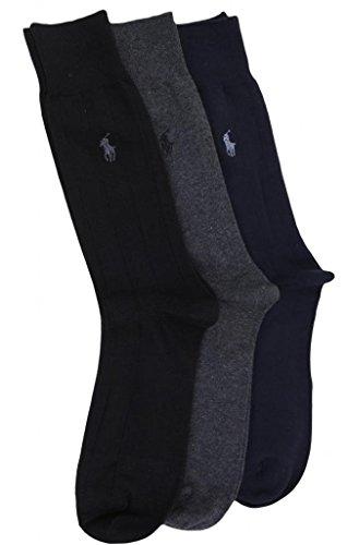 Polo Ralph Lauren Men's 3 Pair Socks