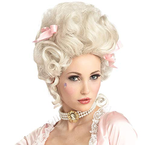 California Costumes Marie Antoinette Wig, Blonde, One Size