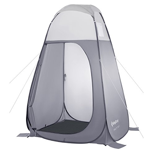 KingCamp Portable Pop Up Privacy Shelter Dressing Changing Privy Tent Cabana Screen Room w Weight Bag for Camping Shower Fishing Bathing Toilet Beach Park, Carry Bag Included