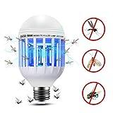 Bombilla Zapper Mobestech de doble uso para LED Zebra LED Anti-mosquito para uso...