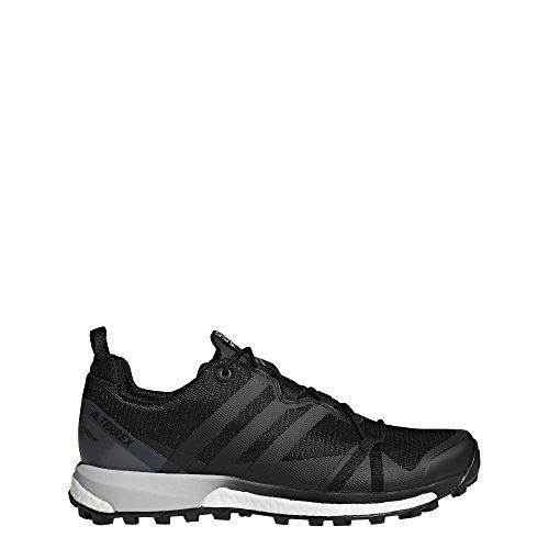 adidas outdoor Terrex Agravic GTX Black/Black/White 12